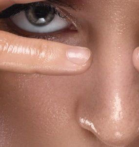 oily skin waking up