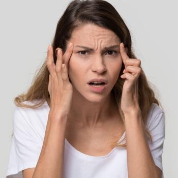 is it normal having forehead wrinkles at 20