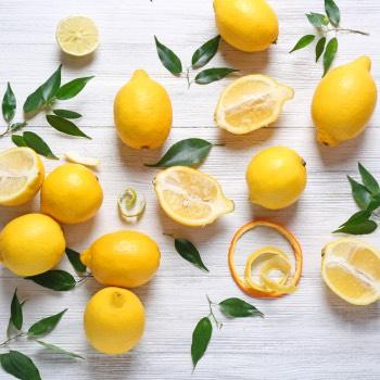 lemon juice on face overnight