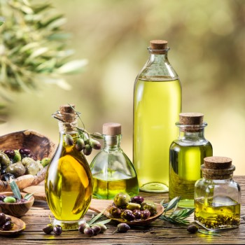 olive oil on face overnight